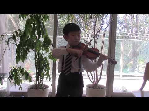 F.J.Gossec - Gavotte (Suzuki Violin 1-17)