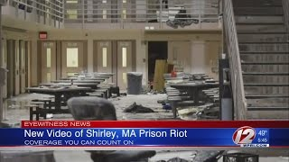 MA Prison releases video of riot
