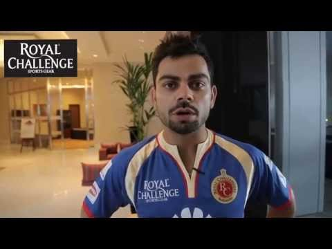 Virat Kohli gives an update from the camp before the match with KKR