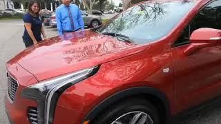 The Jacksonville Armada test drives the 2019 Cadillac XT4