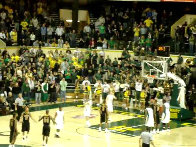 Final shot comes up short in the Missouri-Oregon game at Mac Court 12-02-10