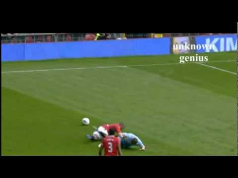 Ashley Young dive Vs Manchester City
