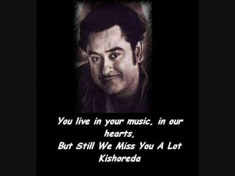 Mein hoon jhum jhum jhumroo..jhumroo-kishore da you live in your music,in our hearts.