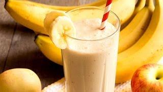 Apple Banana Smoothie | Healthy Juice Recipes
