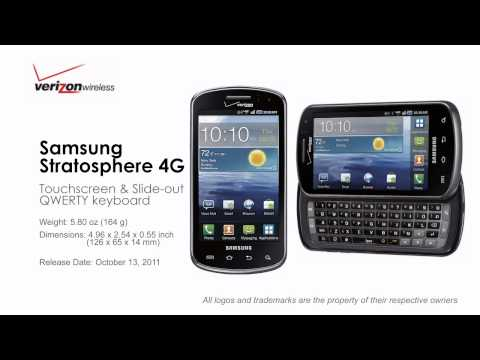Verizon Android Phones with Physical QWERTY Keyboard