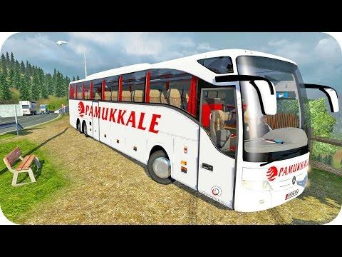 Mercedes Tourismo Bus ETS2 (Euro Truck Simulator 2)
