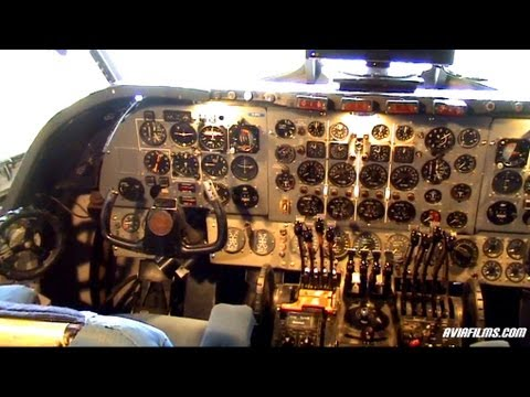 Aviafilms   Aircraft Videos Php Vickers Vanguard Cockpit