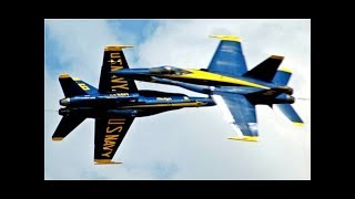 AWESOME AIRSHOW US Navy Blue Angels Pilots Flying at Air Show
