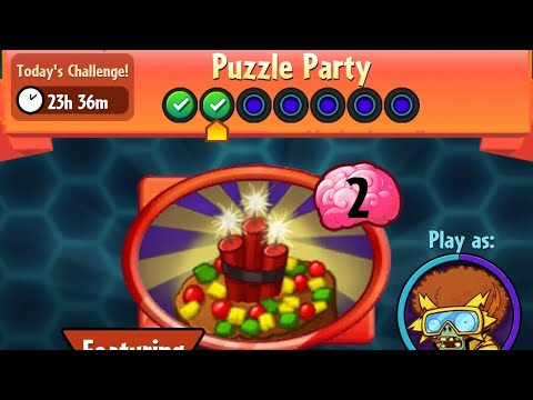 Puzzle Party | 13 December 2017 | Plants vs. Zombies Heroes