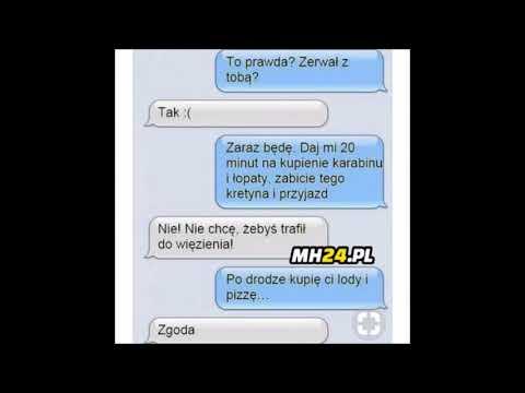 Śmieszne Wiadomości  SMS #3  / Trochę Humoru