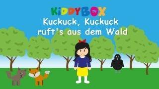 Kuckuck, Kuckuck Ruft's Aus Dem Wald - Kinderlieder Zum Mitsingen - (KIDDYBOX.TV) Karaoke Lyric