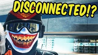 DISCONNECTED?! - Rainbow Six Siege Funny Moments & Epic Stuff