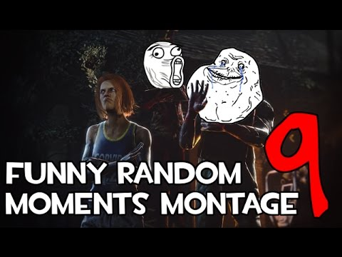 Dead by Daylight funny random moments montage 9