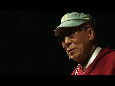 Dalai Lama at the University of Oregon