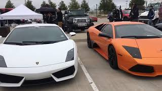1000 HP VF Supercharged Lamborghini Huracan Crashes & Takesover The Meet!