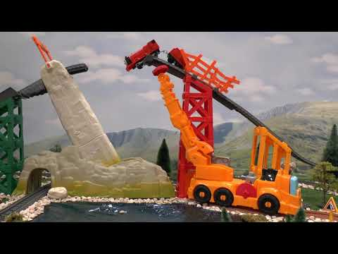 Thomas & Friends Play Doh Diggin Rigs Toy Story Trouble Accident Crash Tom Moss Toys Stories