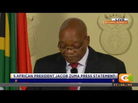 President Jacob Zuma resigns MP3