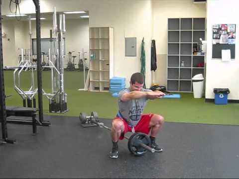Hip Belt Squats - YouTube