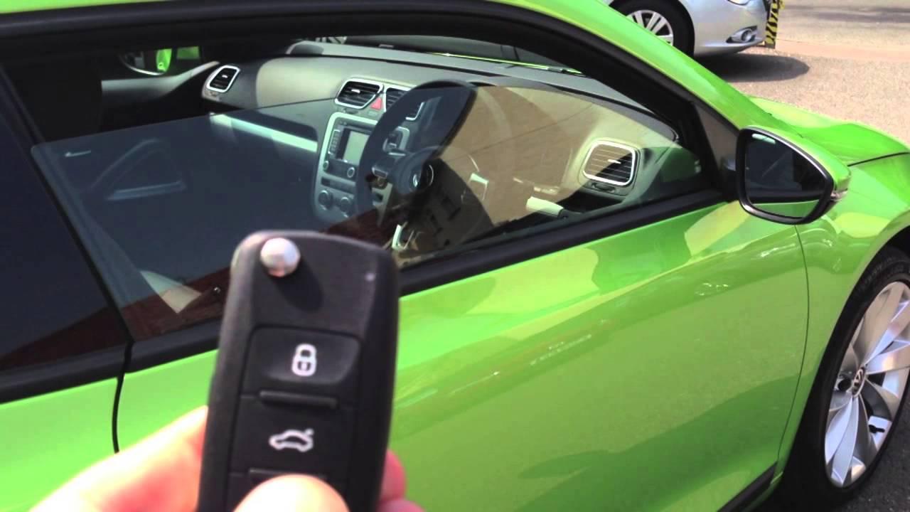VW Volkswagen comfort window closing - YouTube