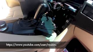e60 5 series bmw aux wire routing and center console routing