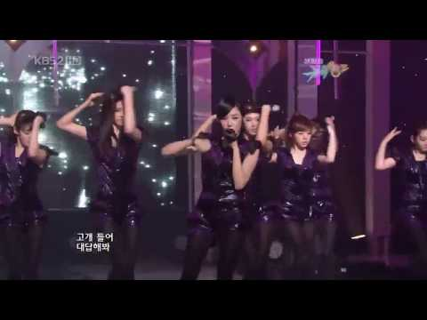 (hd) Girl's Generation (snsd) Run Devil Run Live Music Bank 3-26-2010(22,720p).mp4 video