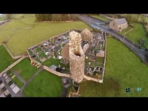 Kilbannon Round Tower Tuam Co Galway
