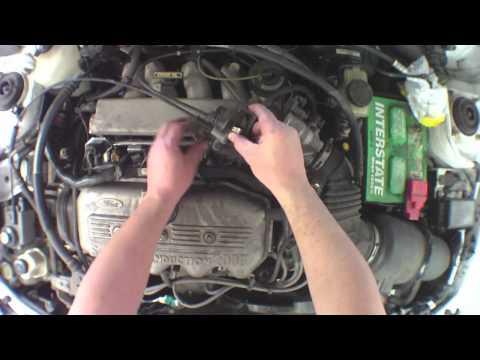 Change fuel injector ford escort v lx #2