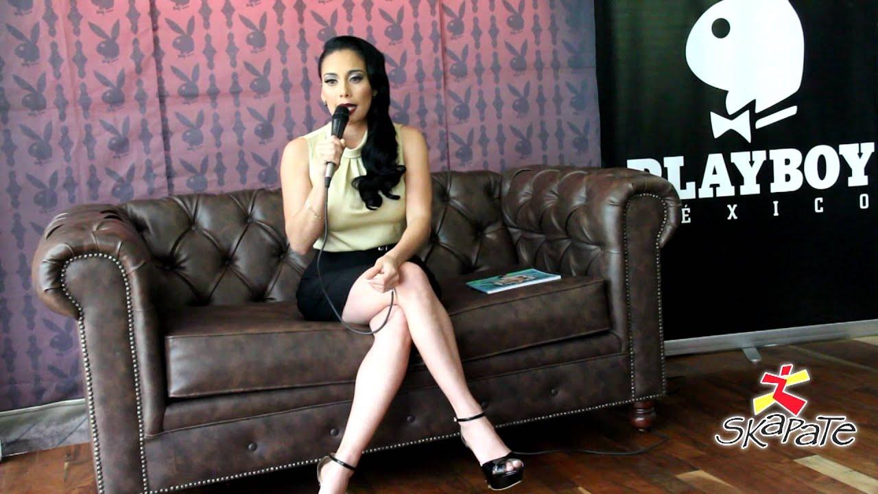Sugey Abrego en Playboy - YouTube