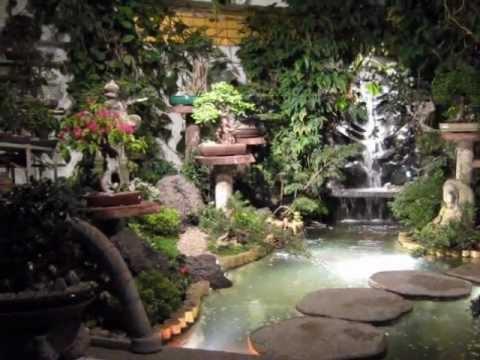 Jardin japones youtube for Disenos de estanques para jardin