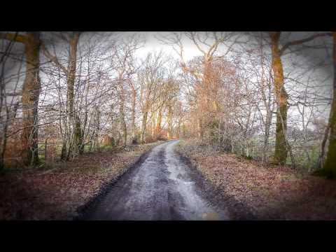 Lon Goed northbound walk (Chwilog, near Pwllheli, Wales, UK)