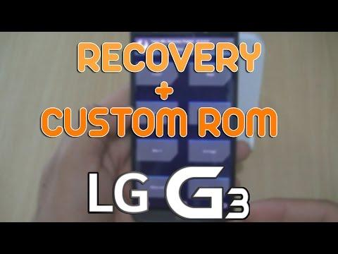 Tutorial - Como instalar Recovery e Custom ROM no LG G3