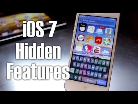 iOS 7 Hidden Features on iPhone