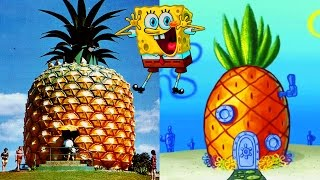 Cartoon Houses You Won't Believe Exist in Real Life!