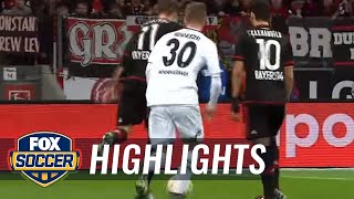 Watch Chicharito's hat trick for Bayer Leverkusen vs. Monchengladbach | Bundesliga Highlights