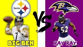 Greatness From The Past Steelers Vs Ravens 2010