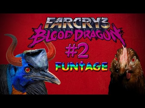 Far Cry 3: Blood Dragon  Funtage | ''rape'' Birds?   Funtage video