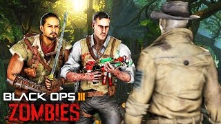 Black Ops 3 Zombies - NEW Mystery Character! Zetsubou No Shima Radios!