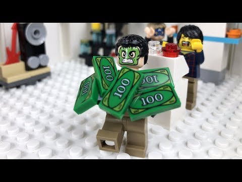 LEGO City Store Robbery STOP MOTION Catch The Crooks | LEGO City | By LEGO Worlds