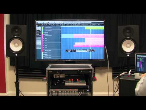 Yamaha HS8 Powered Studio Monitors | Crutchfield video