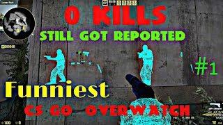 FUNNIEST CS GO OVERWATCH  (csgo overwatch) #1