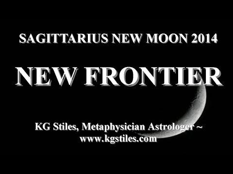 ASTROLOGY SAGITTARIUS NEW MOON 2014 NEW FRONTIER