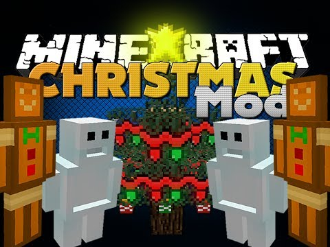 Minecraft Mod - Christmas Mod - New Items, Mobs, and Tools (WinterCraft)
