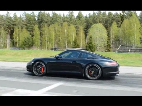 Porsche 911 Carrera 2S (991) PDK vs BMW M3 Coupe 6-speed manual
