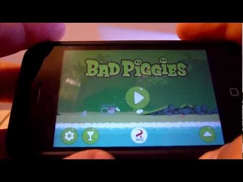 iPhone Review - Bad Piggies
