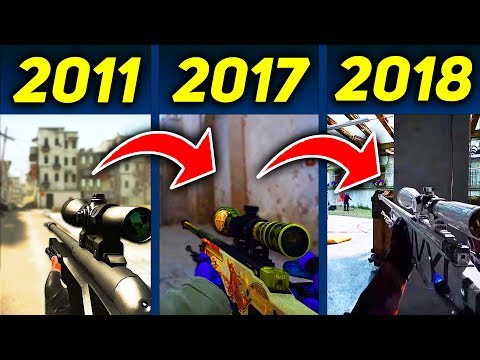 КАК МЕНЯЛАСЬ CS:GO С 2011 ГОДА! ЭВОЛЮЦИЮ КС ГО ДО 2018 ГОДА! КАК ИЗМЕНИЛАСЬ КС:ГО?