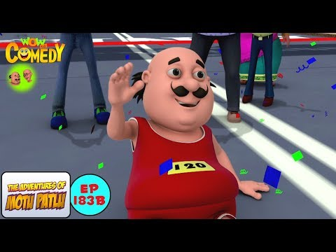 Furfuri Marathon - Motu Patlu in Hindi - 3D Animated cartoon series for kids - As on Nick thumbnail