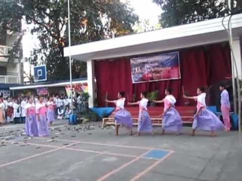 Philippine Folk Dances Region1(la Jota Moncadena,sayaw Sa Bangko,sakuting video