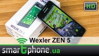 Wexler ZEN 5 - Обзор смартфона с Full HD экраном