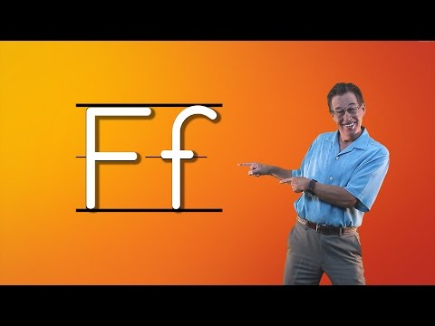Learn The Letter F | Let's Learn About The Alphabet | Phonics Song for Kids | Jack Hartmann