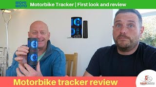 Monimoto Motorcycle Tracker   Our first look and review